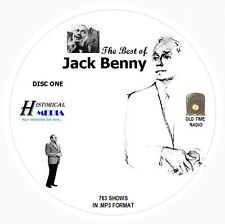BEST OF JACK BENNY - 763 Shows Old Time Radio In MP3 Format OTR 8 CDs