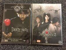 DEATH NOTE Live Action Movie 1 & 2 THAI Set Brand New Sealed Anime