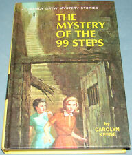 Nancy Drew #43 The Mystery of the 99 Steps 1966A-1 PC