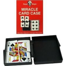Miracle Card Case - By Royal Magic - Cards Vanish, Appear, Change and Restore!