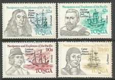TONGA. 1984. Navigators & Explorers (1st Series) Set. SG: 861/64. MNH.