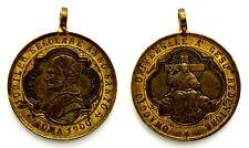 Medaglia Papale Devozionale Leone XIII Pont. Mass. Roma 1900 Giubileo Secolare A