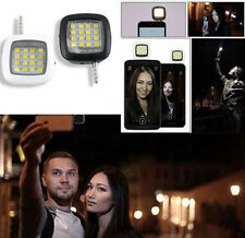 Practical 1X 16 LED Selfie Flash Fill Flash Light Portable Tools For Smartphone