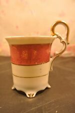 Vintage Ucagco Occupied Japan Cup Pink with Gold