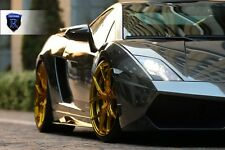 4 WHEEL FOR Lamborghini Gallardo 2011 Rohana RFx5 20x9 +35 20x11 +43 5x112 GOLD