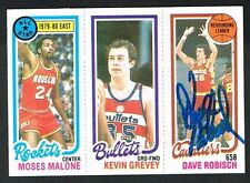 Dave Robisch #52 signed autograph auto 1980-81 Topps Basketball Trading Card