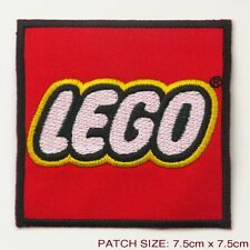 LEGO TOYS - Large Embroidered Iron-On Patch - UK Seller, Free Post, NEW,