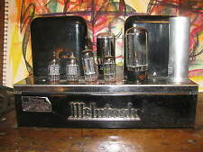 McIntosh MC-30 tube amplifier MC30 amp restored late 50's classic serial #18365