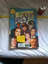 50 Super Stars Large Poster Book Posters Pin Ups Rare Collectable Restaurant