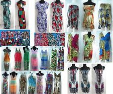 US SELLER-lot of 12 wholesale dreses sexy women sundress maxi long dresses sale