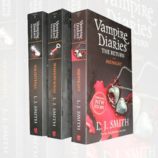 Vampire Diaries The Return Collection L J Smith 3 Books Set  Pack Nightfall NEW