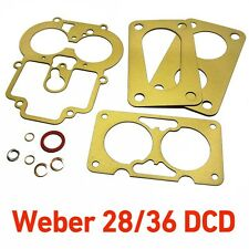 Weber 28/36 DCD service gasket kit repair for Ford CAPRI 1600 GT Cortina Anglia