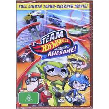 DVD TEAM HOT WHEELS: ORIGIN OF AWESOME! THE MOVIE Children Animation R2+R4 [BNS]