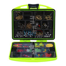 24 Compartments Fishing Tool Set Tackle Box Full Loaded Lure Bait Hooks Sinker