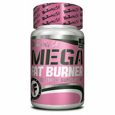 Mega Fat Burner - Biotech USA - 90 Diet Pills L-carnitine Green Tea Caffeine