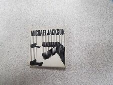 MICHAEL JACKSON BAD TOUR 88 OFFICIAL BADGE BUTTON PINS BROCHE rare *