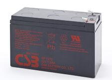 Batterie CSB 12V / 7.2Ah pour alarme, modélisme, mini moto,... Produit NEUF