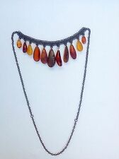 Natural Old Antique Handmade Baltic Amber Necklace 43.6g