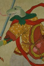 Chinese Painting Hanging Scroll snake Warrior China Asian art Paint Pic ink h16