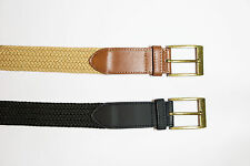 Plus size womens STRETCHY belts 2 Pack Black and Brown Size 22 - 24
