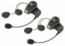 Sena SMH10D-10 Bluetooth Motorcycle Helmet Intercom Headset w/ Boom Dual Pack