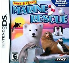 Paws & Claws: Marine Rescue (Nintendo DS, 2011) Authentic!