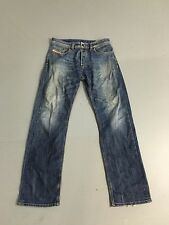 Men's Diesel 'Larkee' Jeans - W32 L32 - Faded Navy Wash - Great Condition
