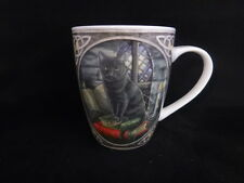 Black Cat Bone China Mug designed Lisa Parker Pagan Wicca Comes In A Lovely Box