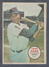 1967 Topps Pin Ups Poster #4 Tommie Agee Chicago White Sox