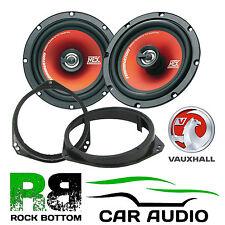 """Vauxhall ZAFIRA 6.5 """" 17cm MTX AUTO SPORTELLO ANTERIORE oratori Upgrade E STAFFE KIT"""