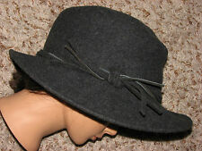 New No Tag Wmns One Size Gray Wool Woolrich Bucket Hat