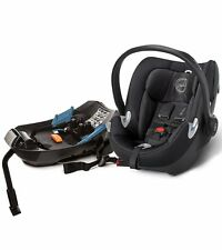Cybex Aton Q Infant Car Seat, Black Beauty