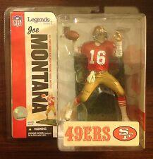 Joe Montana Mcfarlane action figure San Francisco 49ers