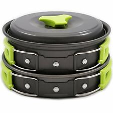 Camping Cookware Backpacking Gear Hiking Outdoors Bug Out Bag Cooking Equipment