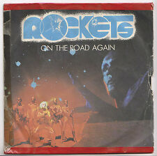 DISCO VINILE 45'' - ROCKETS - ON THE ROAD AGAIN - COSMIC RACE