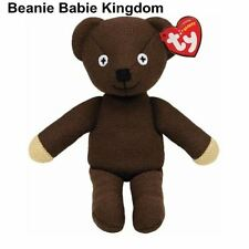 "TY Beanie Babie Baby * Teddy * Mr Bean Teddy Bear Bear 10"" de alto 46179"