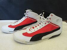 Puma Ferrari SF Speed Cat 2.9 Scuderia Mid Men's US Size 13 Shoes Sneakers