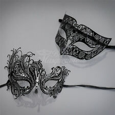 Couples Masquerade Mask, His & Hers Set, Masquerade Ball Mask Couple