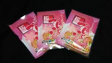 3 packages of Japanese Pink Sakura Denbu for Rice. Try something new.