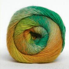 KUNSTGARN Wolle Sockenwolle Strickwolle Lacewolle Stricken Lace Farbverlauf 15