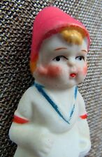 "BEAUTIFUL 1940's ~ 3 3/4"" PORCELAIN DOLL ~ PRISTINE CONDITION ~ ""MADE IN JAPAN"""