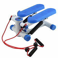Mini Stepper Legs Arms Thigh Cords Fitness Exercise Gym Aerobic Workout Machine