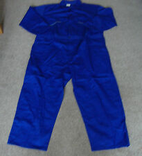 "BRAND NEW DICKIES BOILERSUIT OVERALLS 56"" CHEST REGULAR ROYAL BLUE"