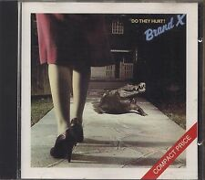 BRAND X - Do they hurt? - CD 1989 CD NEAR MINT CONDITION