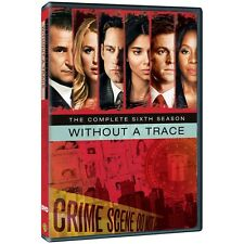 Without a Trace: The Complete Sixth Season DVD 753 MINUTES!