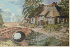 Cross stitch chart-country cottage no... 129 TSG37 uk gratuit p&p...