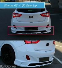 ZEST Aero Parts Rear Bumper Lip Unpainted For HYUNDAI Elantra GT i30 2012 2016