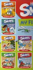 4 X MY FIRST LIBRARY SMURFS Giant Smurf, Astronaut, Sir Smurf the Knight Books