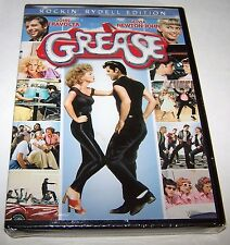 Grease (DVD, 2013, Rockin' Rydell Edition; John Travolta) NEW SEALED