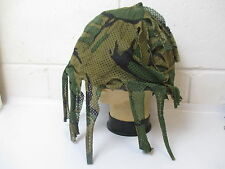 British Army Scrim Helmet Cover Camouflage MK 6 DPM Sniper Camo Large Airsoft